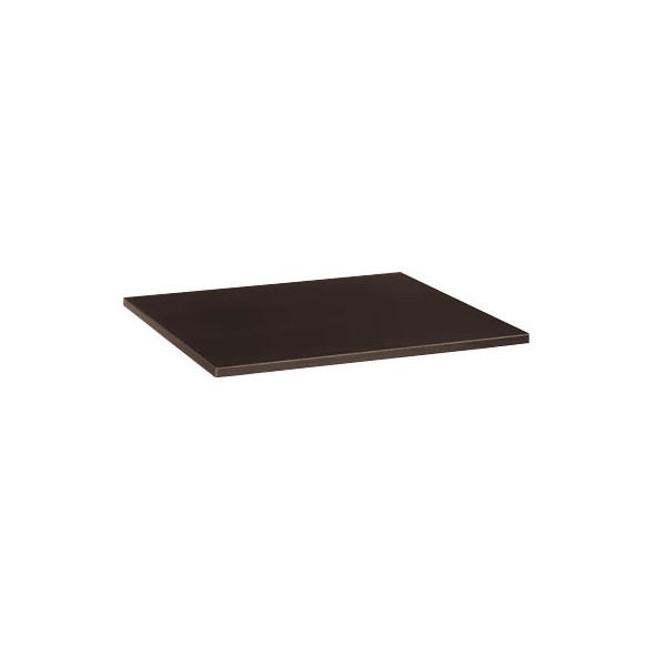 Tischplatte 25-PL88RW wenge quadratisch 80x80 cm (BxT)