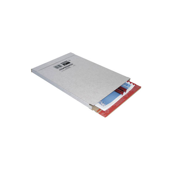 ColomPac Versandschachtel 1-wellig 244x344x15 mm A4+ weiß 20 Stück