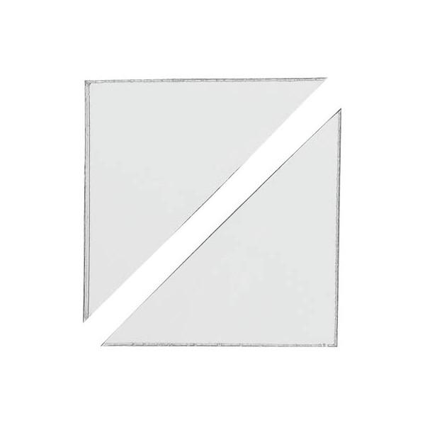 Durable Dreiecktaschen sk 10 x 10 cm (BxH)