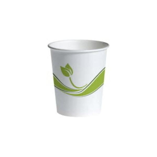 Pappbecher für Heißgetränke design 200/215ml Bio