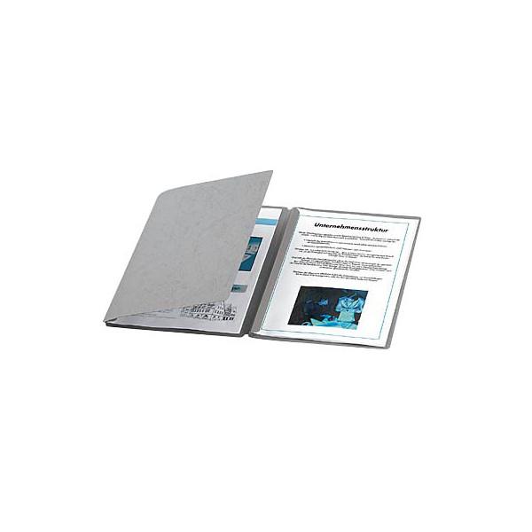 Pagna Präsentationsmappen Sprint grau ohne Verschluss