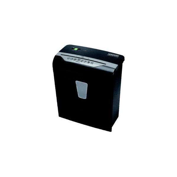 Staples Aktenvernichter SPL-DXC6E, 5487403, P4 Partikelschnitt 4,2x35mm, bis 6 Blatt