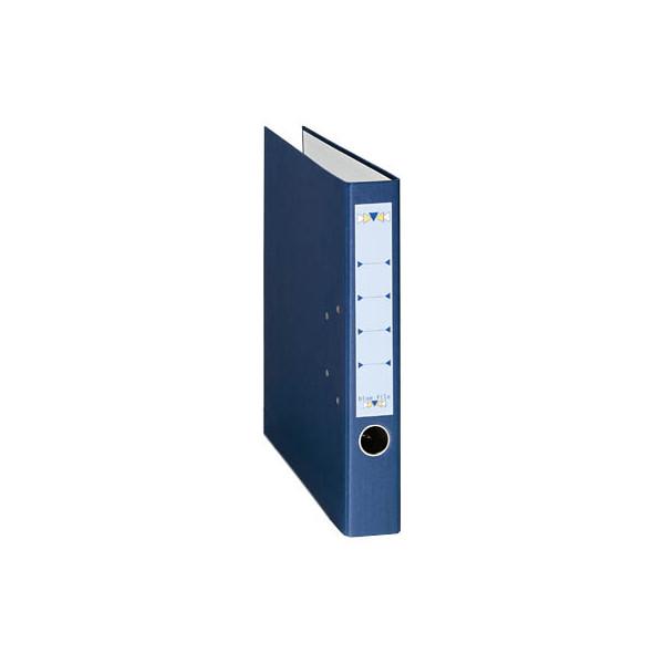 bluefile Ordner A4 dunkelblau 50mm schmal
