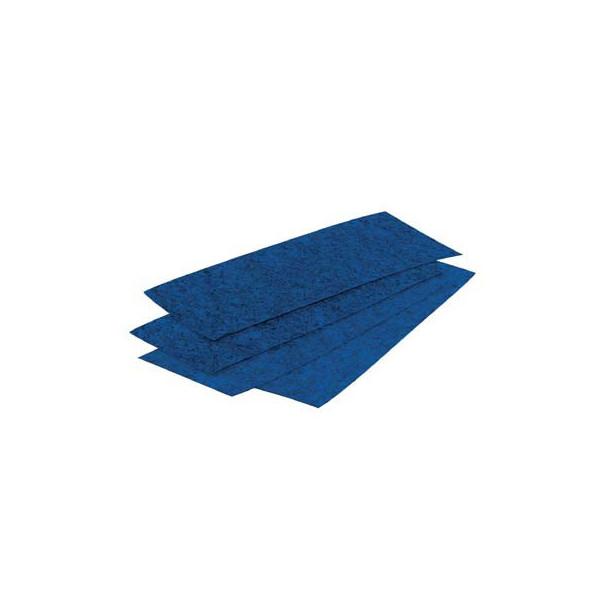 Dots Löschpapier für Tafelwischer blau 100 Blatt