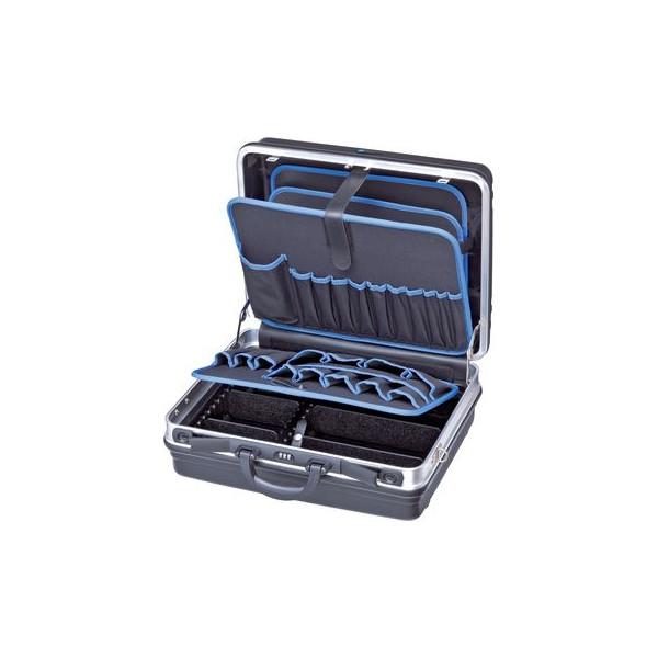 Knipex Werkzeugkoffer Basic schwarz/blau ohne Inhalt