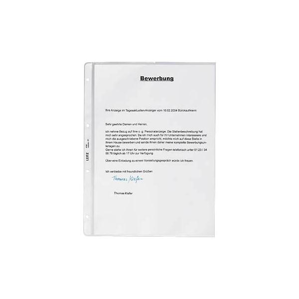 Leitz 4720 A4 Prospekthüllen genarbt 130my mit Einschubhilfe