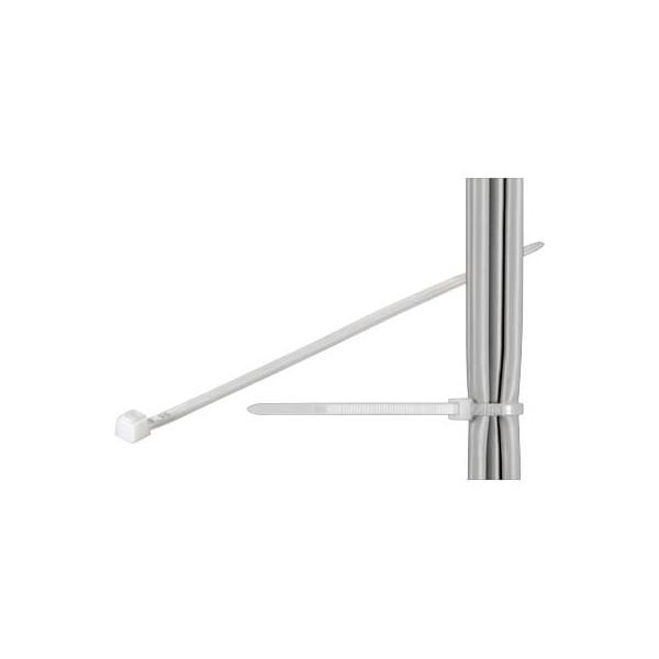 fixPOINT Kabelbinder transparent 20cm 100 Stück