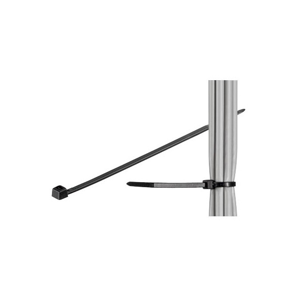 fixPOINT Kabelbinder schwarz 20cm 100 Stück