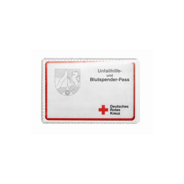 Durable Ausweishüllen geeignet für z.B. EC-Karten und Kreditkarten, Rentenausweis, Führerschein und Blutspendeausweis