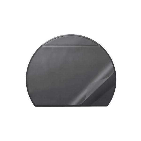 Durable Schreibunterlage schwarz mit Vollsichtplatte