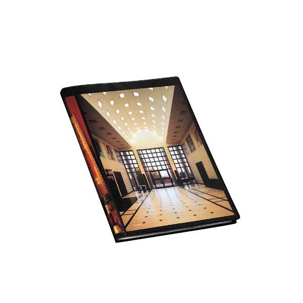 FolderSys Sichtbuch mit Klarsicht-Cover 0,9 cm