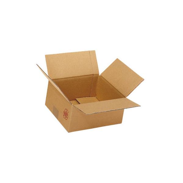 Faltkartons 31,3 x 21,3 x 17,8cm braun 20 Stück Wellpappe