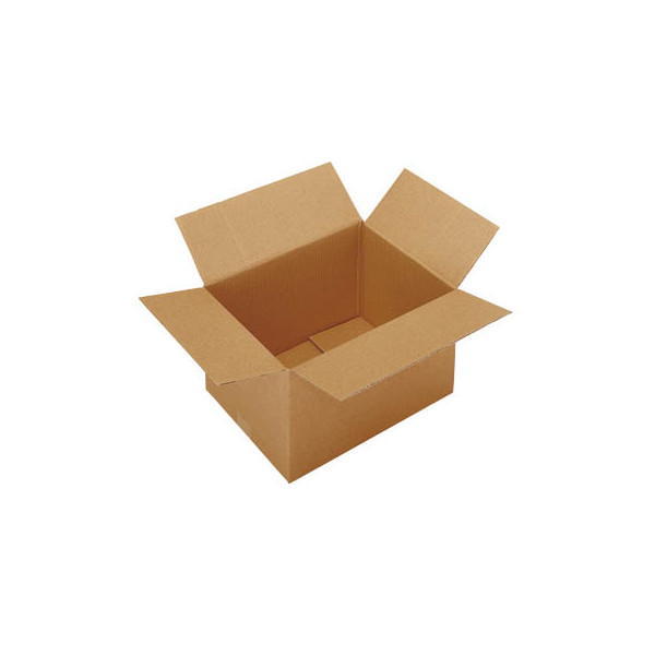 Faltkartons 41 x 21 x 23,7cm braun 20 Stück Wellpappe