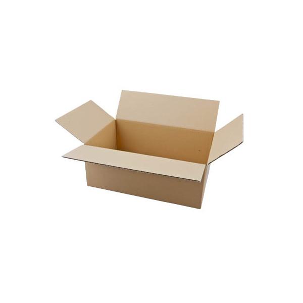 Faltkartons 41 x 26 x 16,7cm braun 20 Stück Wellpappe