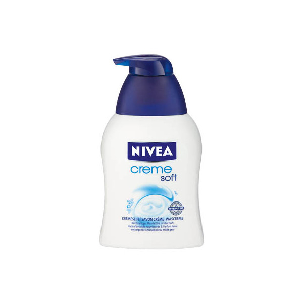 (0,84 EUR/100 ml) Nivea Cremeseife Creme Soft 250 ml