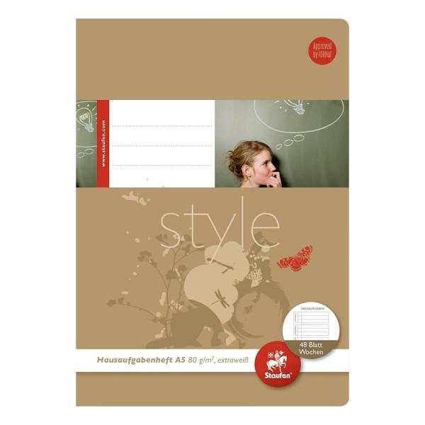 Ursus Hausaufgabenheft Basic A5 48 Blatt