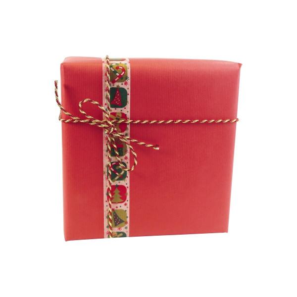 Clairefontaine Geschenkpapier rot 70cm x 3m