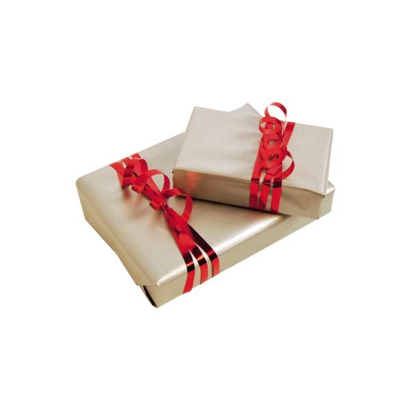Clairefontaine Geschenkpapier silber 70cm x 3m