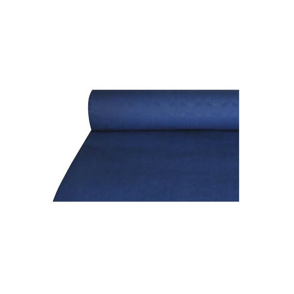 (0,38 EUR/1 m) Papstar 1 x 50 m dunkelblau Tischtuch Tischdecke