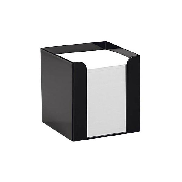 folia Notizzettel-Box schwarz