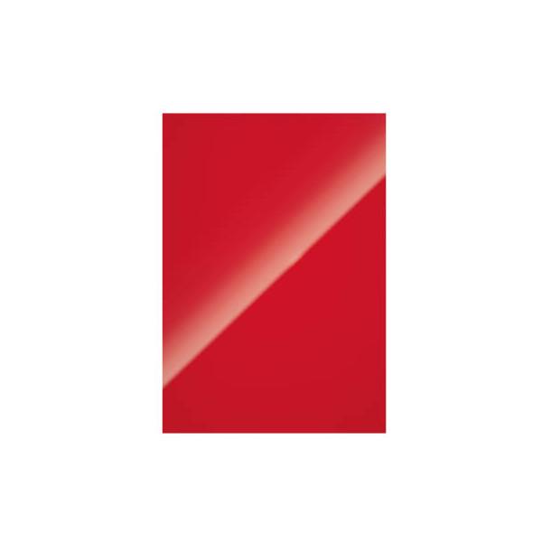Fellowes Umschlagkarton Chromolux 5378303 A4 Karton 250 g/m˛ rot/weiß hochglänzend 100 Stück