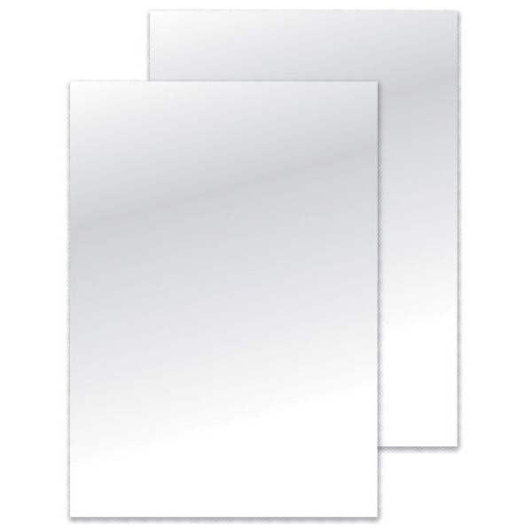 Fellowes Umschlagkarton Chromolux 5378004 A4 Karton 250 g/m˛ weiß hochglänzend 100 Stück