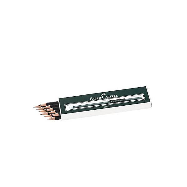Faber-Castell Bleistifte 1111 Härtegrad B