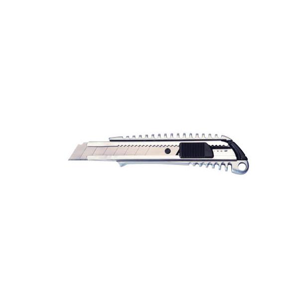 Maul Cutter Metall silber 18mm Klinge
