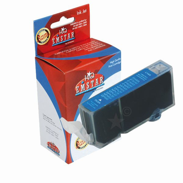 EMSTAR Druckerpatrone Canon Pixma iP3600/MP540 blau - Original