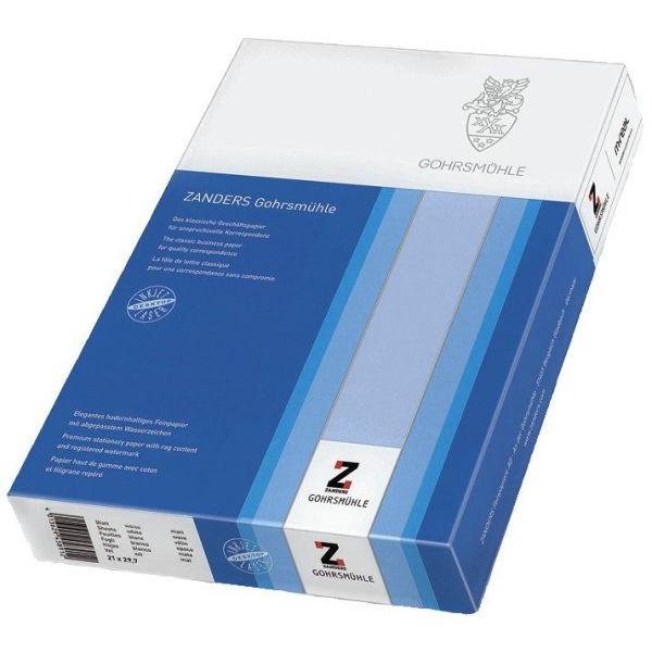ZANDERS Gohrsmühle Briefpapier A4 100g weiss mit Wasserzeichen 200 Blatt