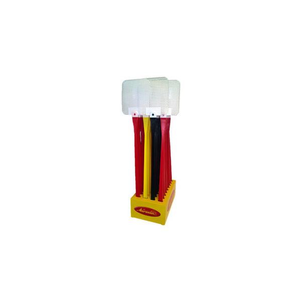 Aeroxon Fliegenklatsche Kunststoff we/bunt 46x9x0,8cm