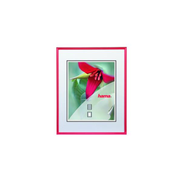 Hama Bilderrahmen Sevilla rot 30 x 40 cm Glas
