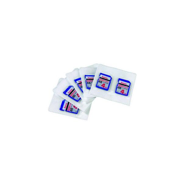 Hama Speicherkartenhüllen selbstklebend für SD-Karten PP 75x70mm 5 Stück