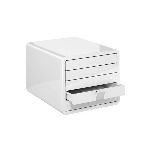 Han Schubladenbox iBox 1551-12 weiß/weiß 5 Schubladen geschlossen