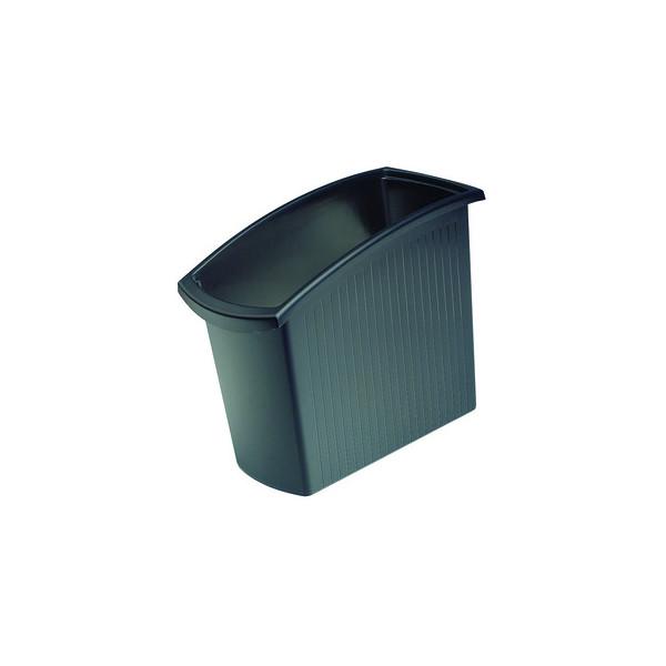 Han Papierkorb 1840 Mondo 18 Liter schwarz