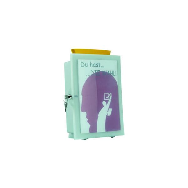 Han Sammelbox IMAGE-IN lichtgrau 260 x 128 x 375 mm inkl 2 Schlüssel