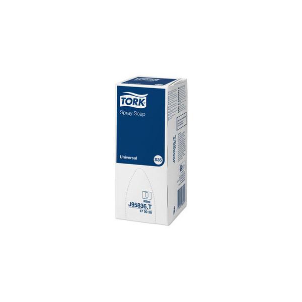 (9,35 EUR/1 l) Tork SpraySeife farbstofflos duftend 800ml 6 St