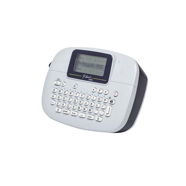 Brother Beschriftungsgerät für M-Schrift- bänder in 9+12 mm, Qwertz-Tastatur