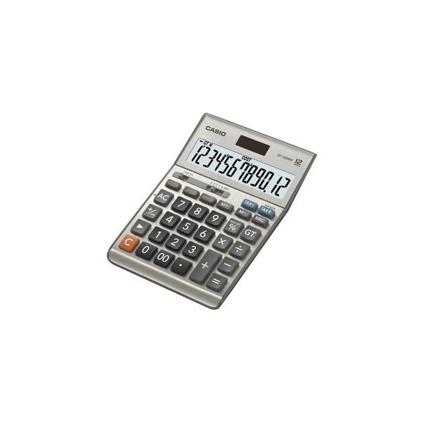 Casio Tischrechner DF-120BM silber 127x180x33 12-stlg.