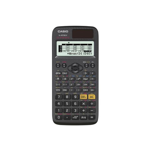 Casio Taschenrechner FX-87DEX QR-Code