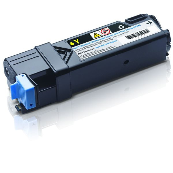 Dell Toner Cartridge NPDXG gelb für Color Laser Printer 2150cdn, 2150cn,