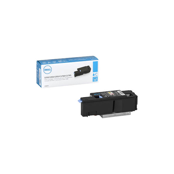Dell Toner Cartridge C5GC3 cyan für Color Laser Printer 1250c, 1350c,