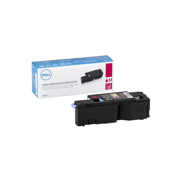 Dell Toner Cartridge XMX5D magenta für Color Laser Printer 1250c, 1350c,