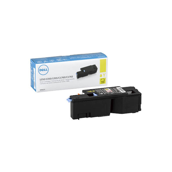 Dell Toner Cartridge WM2JC gelb für Color Laser Printer 1250c, 1350c,