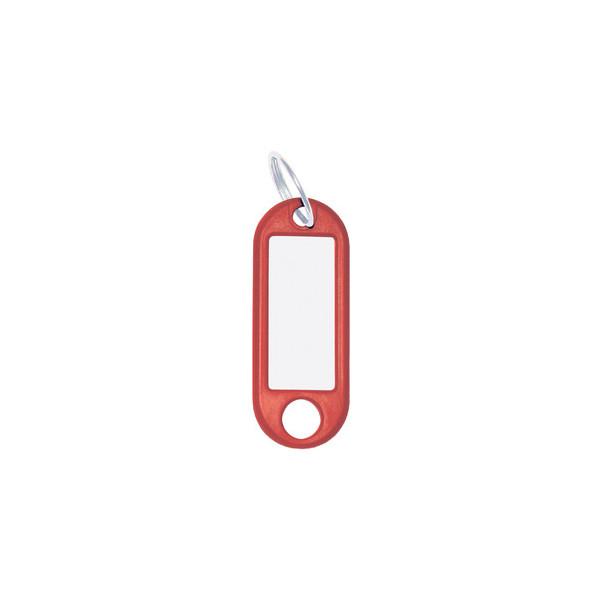 Wedo Schlüsselanhänger rot 10er