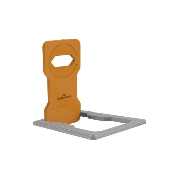 Durable Variocolor Phone Holder, orange. Ladehalterung für Smartphones