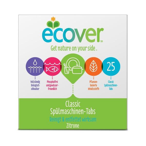 (31,08 EUR/100 Stück) ECOVER Spülmaschinen Tabs 25 St
