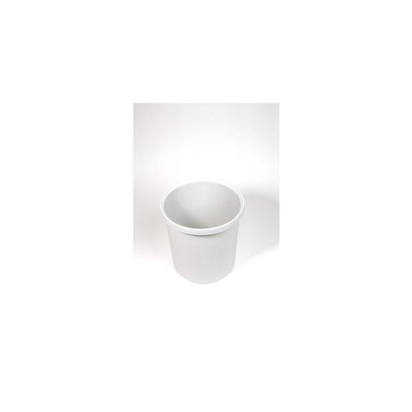 Helit Papierkorb H61057 linear 18 Liter lichtgrau