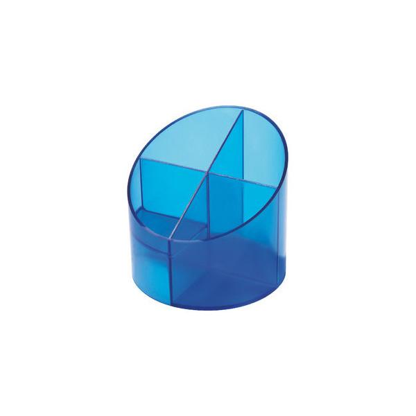 Helit Multiköcher mit 4 Kammern blau 11x11x10,5cm