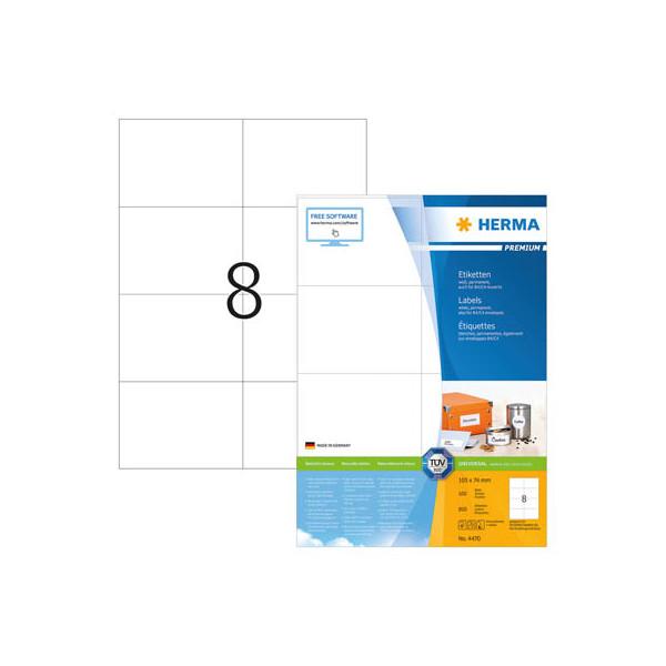 Herma CD Etiketten 4471 Ř 116 mm weiß 200 Stück CDs / DVDs mit Anlagehilfe